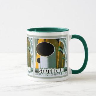 Línea taza de Holanda - de América del campanero