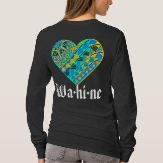 LineA Wa·hola·tatuaje del corazón del ne Camiseta
