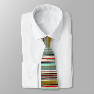 Líneas aherrumbradas y sucias corbatas personalizadas