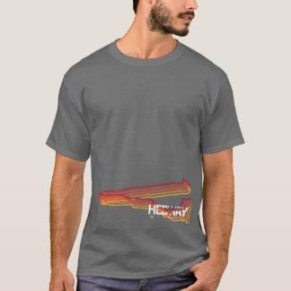 Líneas coloreadas te de la estación de HEDWAY del Camiseta