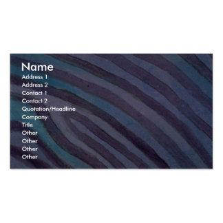 Líneas de contorno coloridas plantillas de tarjeta de negocio