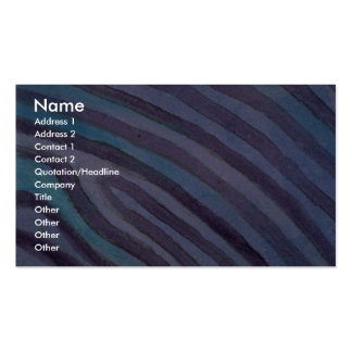 Líneas de contorno coloridas tarjetas de visita