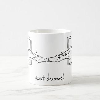 ¡Líneas del potro - sueños dulces! Taza