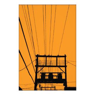 Líneas eléctricas foto