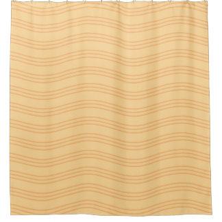 Líneas onduladas amarillo-naranja