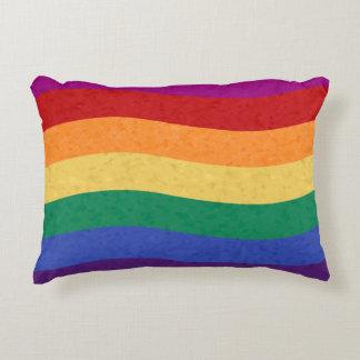 Líneas onduladas coloreadas arco iris