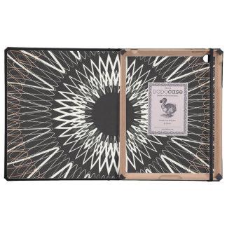 Líneas onduladas iPad fundas