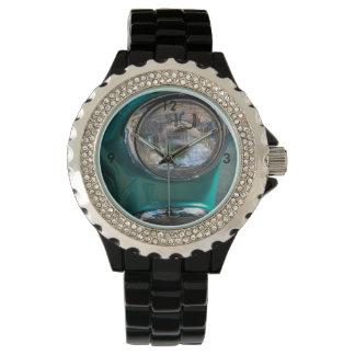 Linterna de 55 Chevy Reloj