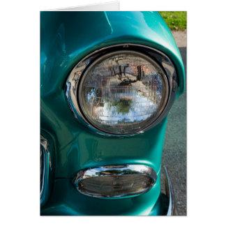 Linterna de 55 Chevy Tarjeta Pequeña