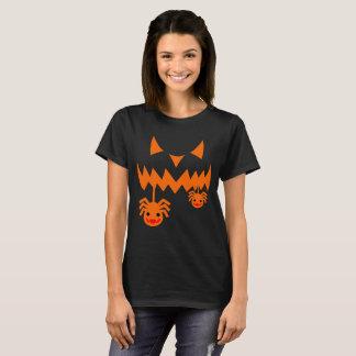 Linterna de Jack O de la calabaza de Halloween Camiseta