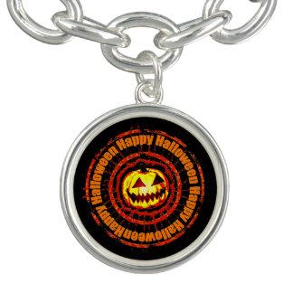 Linterna de O de Jack del feliz Halloween ' Pulseras Con Dijer