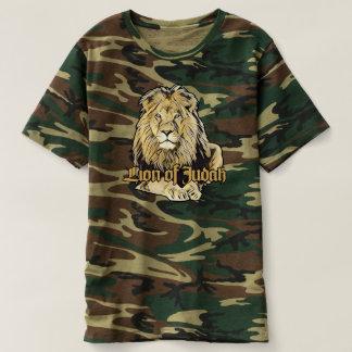 Lion of Judah - Jah Army Shirt Camiseta