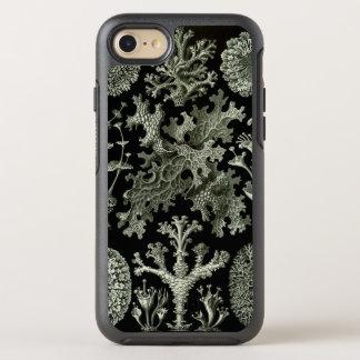 Liquen de Ernst Haeckel, plantas de la naturaleza Funda OtterBox Symmetry Para iPhone 7