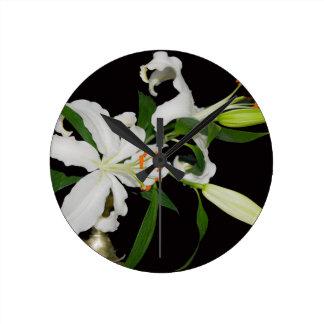 Lirio artístico Collection-1 Reloj Redondo Mediano