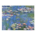 Lirios de agua de Claude Monet // Postal