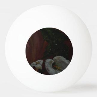Lirios de Arum 1 bola de los tenis de mesa