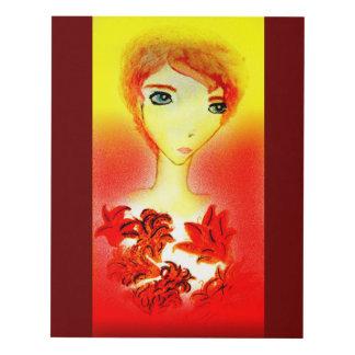 Lirios tigrados 11x14 cuadro