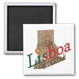 Lisboa Imán De Nevera