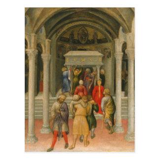 Lisiado y enfermo curado en la tumba de San Nicolá Postal