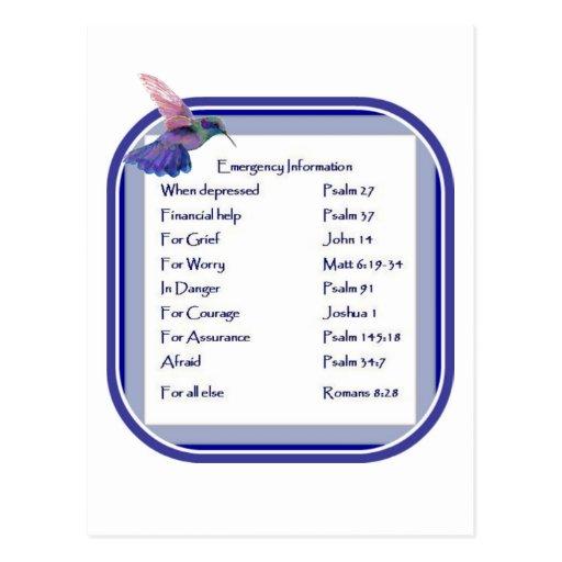 Lista de motivación de la escritura para la emerge postal