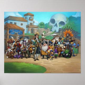 Lista de Pirate101 Skull Island Póster