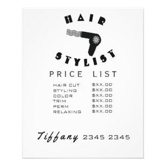 Lista de precios del pelo del secador de pelo del