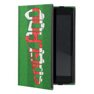 Listón Calligram del fútbol de Inglaterra iPad Mini Cárcasas
