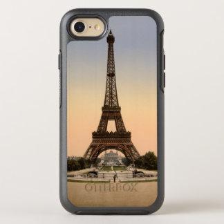 Litografía de la exposición de París de la torre Funda OtterBox Symmetry Para iPhone 8/7