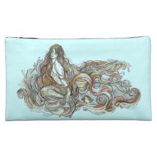 Little mermaid - bolso cosmético medio