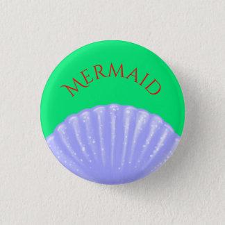 Little mermaid inspiró chapa redonda de 2,5 cm