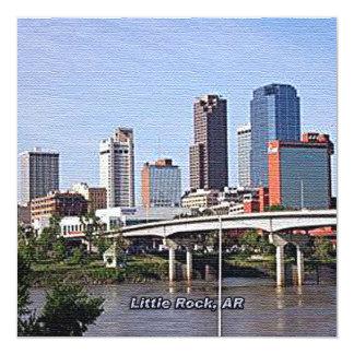 Little Rock, Arkansas Invitación 13,3 Cm X 13,3cm