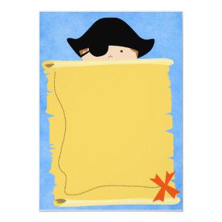 LittleBoyPirate.ai Invitación 12,7 X 17,8 Cm