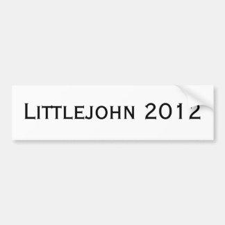 Littlejohn 2012 pegatina para coche