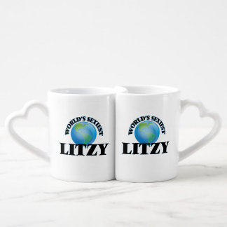 Litzy más atractivo del mundo taza para enamorados