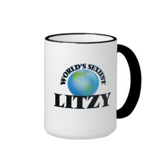 Litzy más atractivo del mundo taza de dos colores