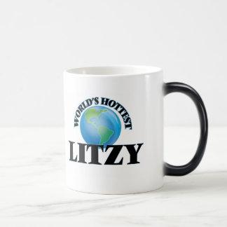 Litzy más caliente del mundo tazas de café