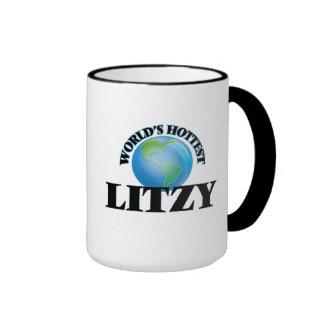 Litzy más caliente del mundo taza a dos colores