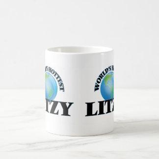 Litzy más caliente del mundo taza básica blanca