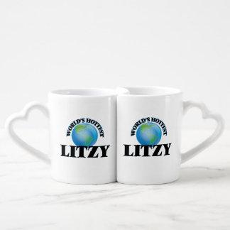 Litzy más caliente del mundo tazas para enamorados