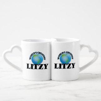 Litzy más grande del mundo tazas amorosas