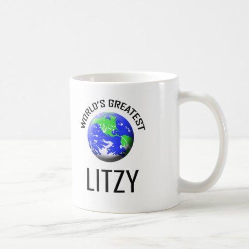 Litzy más grande del mundo taza