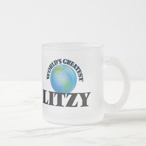 Litzy más grande del mundo tazas de café