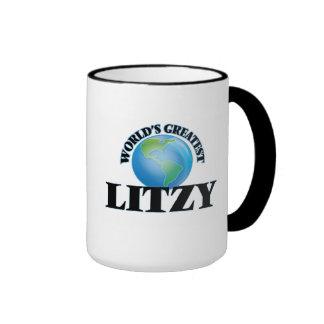Litzy más grande del mundo taza a dos colores