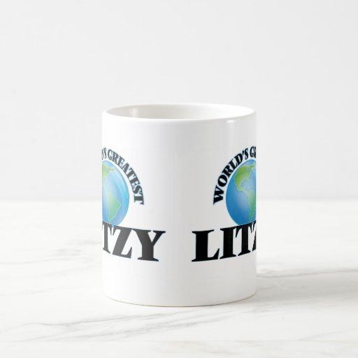 Litzy más grande del mundo tazas