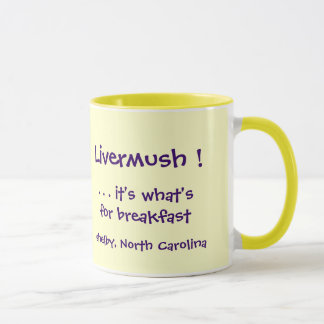 ¡Livermush! Es cuál está para la taza del desayuno