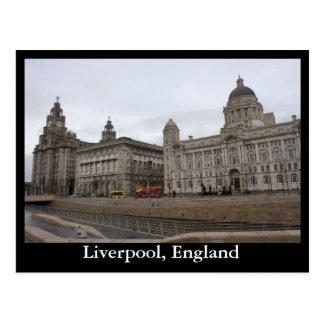 Liverpool, Inglaterra Postal