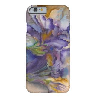 Llama púrpura funda de iPhone 6 barely there