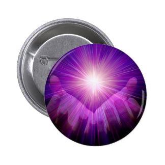 llama violeta pins