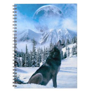 Llamada de lobo libro de apuntes