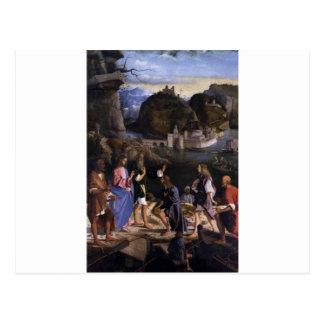 Llamada de los hijos de Zebedee circa 1510 Tarjetas Postales